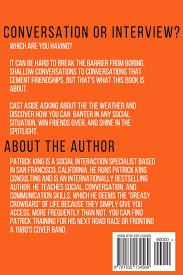 conversation tactics strategies to command social situations conversation tactics strategies to command social situations book 3 wittines patrick king 9781535134569 amazon com books