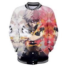 <b>Bnha Cosplay Dabi</b> My Hero Academia Jacket Anime Shirt ...