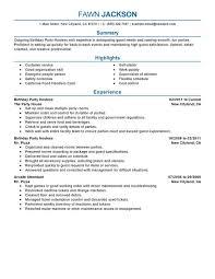 hostess resume hostess resume objective