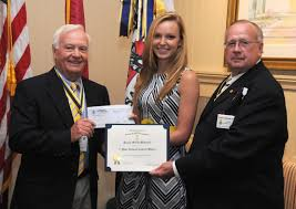 fayetteville breaking news newspaper lincoln county park city bonnie wakefield is congratulated by dr darryl addington president elect and claude