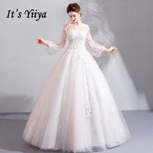 Puff Sleeve <b>Tulle</b> Wedding Dress Promotion-Shop for Promotional ...