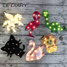 <b>LEDIARY</b> 3D LED <b>Unicorn</b> Night light Holiday Gift RGB White Pink ...