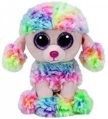 <b>Мягкая игрушка TY Beanie</b> Boos Пудель Rainbow 15 см - купить в ...
