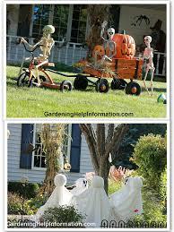 ideas outdoor halloween pinterest decorations: looking for some cute ideas to decorate your yard for halloween i absolutely love this yard in my neighborhood the witch just cracks me up