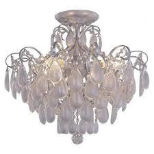 Потолочная люстра <b>Crystal Lux Sevilia</b> PL4 Silver