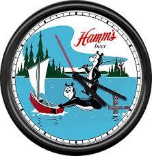 Hamm's hamms медведь пиво бар таверна рыбацкая лодка игра ...