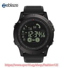 Hot Zeblaze VIBE 3 Flagship Rugged Smartwatch 33 month ... - Qoo10