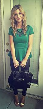 best ideas about peplum outfit peplum peplum st patrick s day outfit for date night or work the nomis niche