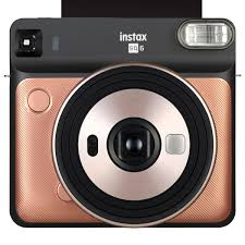 <b>Fujifilm Instax SQUARE</b> SQ6 Instant Camera with Selfie Mode, Built ...