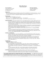example of a resume no work experience is one of the best easy