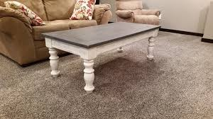 its only been a week since i finished up the coffee table so we havent used it much yet while the wax cures time will tell how well the finish holds up chalk paint coffee table
