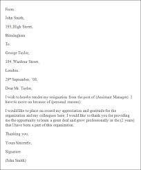 basic resignation letter template   formal resignation letter    formal resignation letter template
