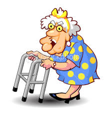 Image result for old lady in wheelchair clipart