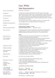 Resume Sample For Sales Agent