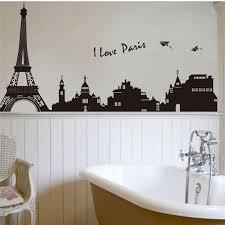 i love paris eiffel tower wall stickers bedrooms office home decorations 7199 diy adesivo de aliexpresscom buy office decoration diy wall
