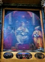 San Benedetto da Norcia fra San Gerolamo e San Lodovico da Tolosa