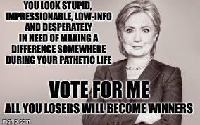 Hillary - Imgflip via Relatably.com