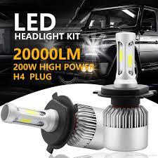 CSP HB2 9003 <b>H4 H7 H11</b> H13 <b>9005</b> 9006 LED Headlights Kit Hi ...