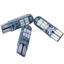 <b>2PCS T10 W5W LED</b> lamp White Red ice blue Strobe bulb for ...