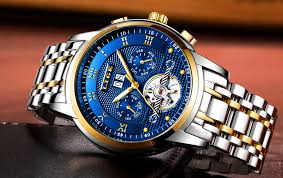 2019 <b>LIGE new mens watches</b> top brand luxury Business Automatic ...