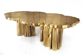 top brass furniture for contemporary interiors fortuna dining table by boca do lobo brass furniture brass furniture