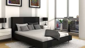 black and white master bedrooms black grey white bedroom