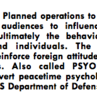 Image result for psychological operations