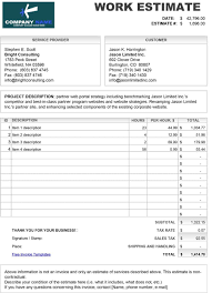 estimate template template lab estimate template 03
