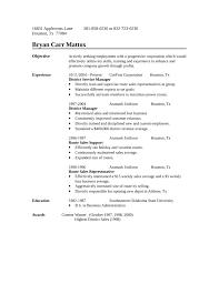 Sample Resume  One Page Route Sales Representative Resume  Mr  Resume