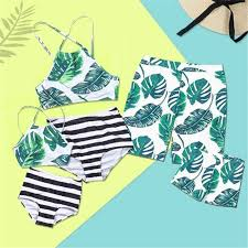 2019 Family Matching <b>Swimwear</b> Father Son Trunks <b>Mother</b> ...