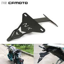 <b>Motorcycle</b> License Plate Mount Bracket Adjusted <b>Number Plate</b> ...