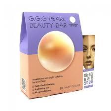 MAY ISLAND <b>Осветляющее мыло для</b> умывания G.G.G Pearl ...