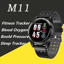 Smart Watch Heart Rate Bracelet Fitness Tracker Waterproof ...