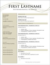 free resume samples free  seangarrette cosample resume templates free download