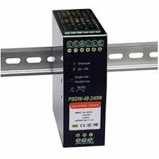 PSDIN-48-240W Tycon Power <b>48V 240W DIN Rail</b> Industrial Power ...