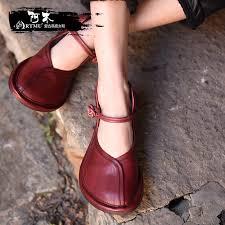 <b>Artmu Original</b> Spring <b>New</b> Style Retro Big Toe Women Shoe ...