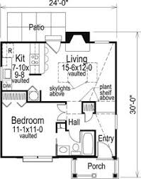 plan 1165 the squirrel is a 600 sqft contemporary, ranch, vacation One Story House Plans With Mother In Law Quarters cabin colonial cottage country ranch house plan 86955 Detached Mother in Law Plans