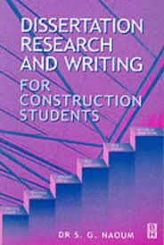 Dissertation Research and Writing for Construction Students     Amazon UK
