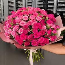 Spray <b>roses bouquet</b> - 168 USD, доставка по городу за 1 день 3 ч ...