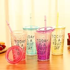 2016 new design fresh summer cretive ice cup super cool large cup with straw cup ice buy fresh cool summer