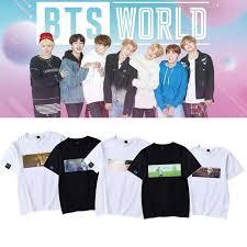 <b>BTS</b> World Member <b>Printing</b> T-shirt | <b>BTS</b> High-Quality Merchandise ...