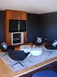 blue modern living room photos hgtv blue dark trendy living room