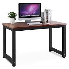 amazoncom  tribesigns modern simple style computer desk pc