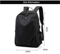 <b>DINGXINYIZU</b> college <b>student</b> school backpack men black travel ...