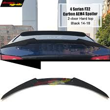 <b>F32 spoiler Trunk Rear</b> wing tail M4 style Carbon for bmw 420i 428i ...