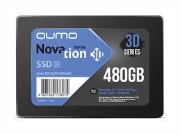 <b>Твердотельный накопитель Qumo</b> Novation TLC 3D 480Gb Q3DT ...