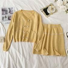 <b>NiceMix</b> Runway Woman's knitting Sweater <b>2 piece</b> Suite Woman ...