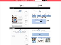 more of the best personal websites we ve ever seen this web designer and strategist used her work page to show before and after screen shots of her clients websites