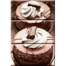 Monocolor Composicion Chocolat Cake 20x30 <b>панно</b> от <b>Absolut</b> ...