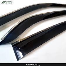 <b>Дефлекторы окон</b> автомобиля — купить ветровики на стекла по ...
